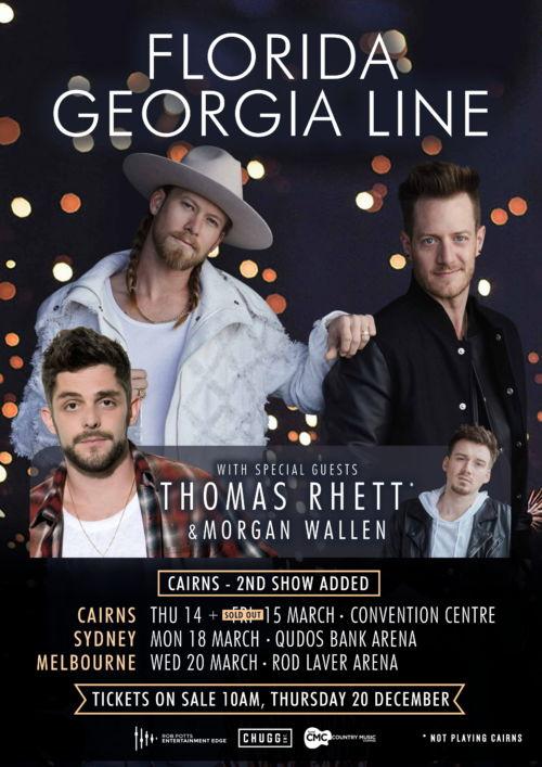 Chugg Entertainment - Florida Georgia Line 2019